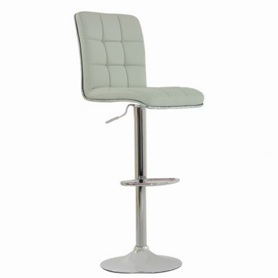 Atlanta White Faux Leather Bar Stool