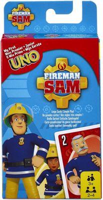 UNO Junior Fireman Sam Game Play Fun Kids Children Gift
