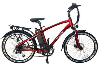 FreeGo Eagle Crossbar 10Ah Electric Bike Red