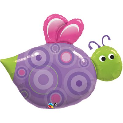 Cute Flying Bug Balloon - 39 inch Foil