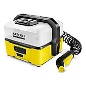 Karcher OC3 4 Litre Portable Washer - Yellow/Black