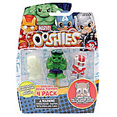 Ooshies Pencil Toppers 4 Pack Marvel