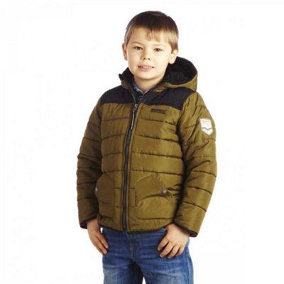 Kids Boy's Ziggy Jacket Green - UK 32 - Regatta