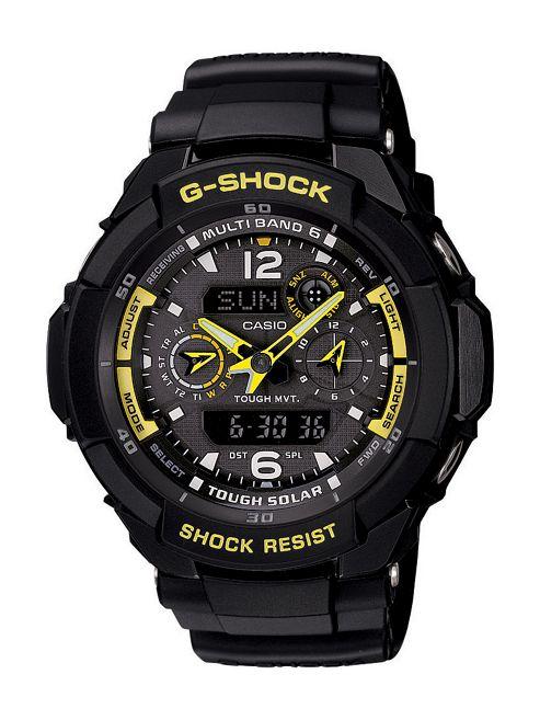 Casio Computer G-Shock Watch With Solar Powered Radio