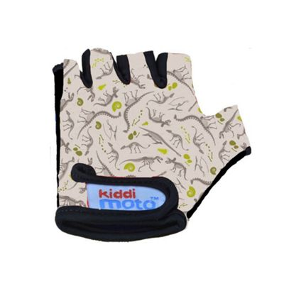 Kiddimoto Gloves for ages 2 to 5 yrs - Fossil Dinosaur (Small)