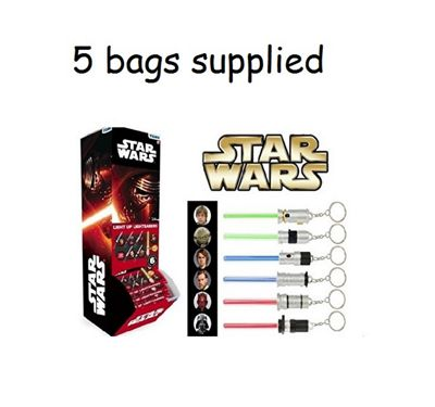 Star Wars Light Up Lightsaber Blind Bag BUNDLE - 5 SUPPLIED