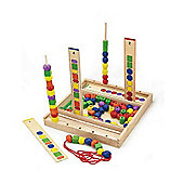Viga Wooden Bead Sequence Game