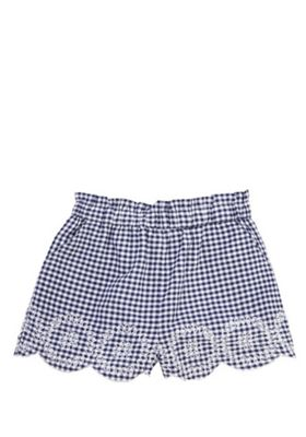 F&F Gingham Shorts Blue 12-18 months