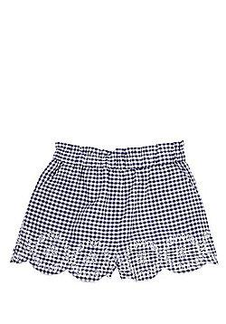F&F Gingham Shorts - Blue
