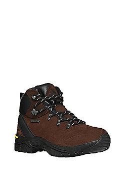 Trespass Serena Leather Walking Boots - Dark brown