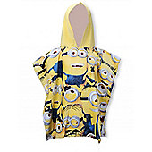 Character Despicable Me Minions 'Gang' 100% Cotton Poncho
