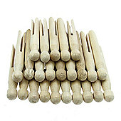Traditional Dolly Pegs 24 Pk