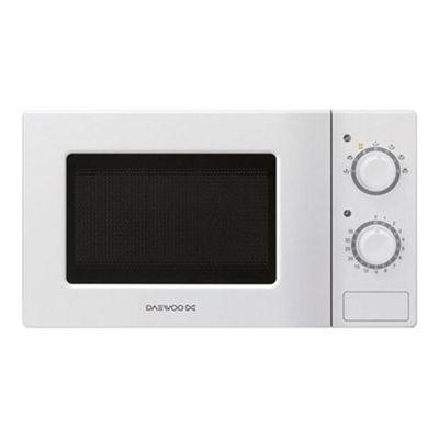 Daewoo Kor6l77 20 Litre 700w Manual Microwave White
