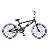 "Rooster Big Daddy Kids 20"" Wheel Freestyle BMX Bike Black"
