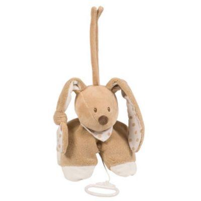 Nattou Musical Toy - Cappuccino Bunny