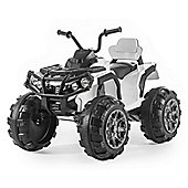 BIG ATV 12v Electric Beach Quad Bike - White