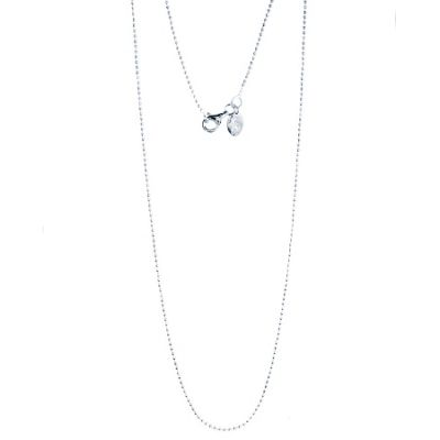 Chrysalis Sterling Silver Ball 40cm Chain Necklace CRN0039-40