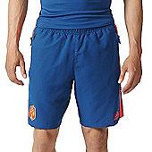 adidas France Rugby FFR Woven Shorts 16/17 - Blue