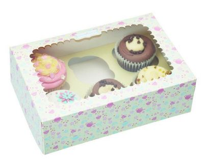 Pack of Two Paper Cake Boxes