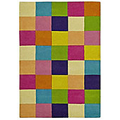 Gio Multi Coloured Hand Tufted 100% Wool Rug 80 x 150 cm