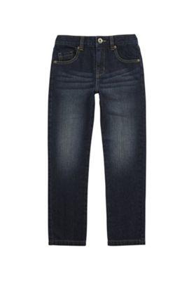 F&F Regular Fit Jeans Dark Blue 5-6 years
