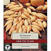 50 x Onion 'Sturon' Sets - Vegetable Bulbs