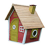 Crooked Cottage Wooden Playhouse, Children's Painted Wendy House