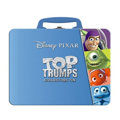 Pixar 'Top Trumps' Collectors Tin Card Game