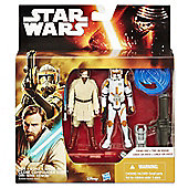 Star Wars EP III 3.75 inch Figure 2 Pack Desert Mission Obi-Wan and CDR Cody