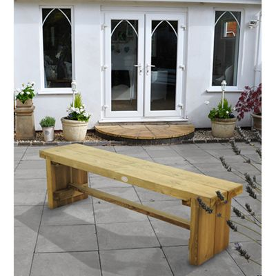 Double Sleeper Bench - 1.5m