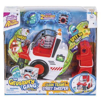 Grossery Gang Clean Team Street Sweeper Playset