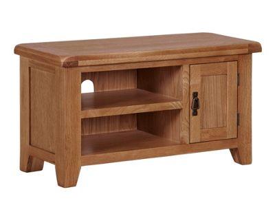 Arklow Oak TV Unit / Small Oak TV Stand