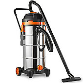 VonHaus 45L Wet and Dry Vacuum Cleaner with Blowing Function