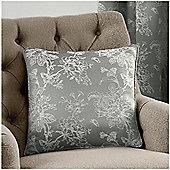 Fusion Ilsa Silver Cushion Cover - 43x43cm