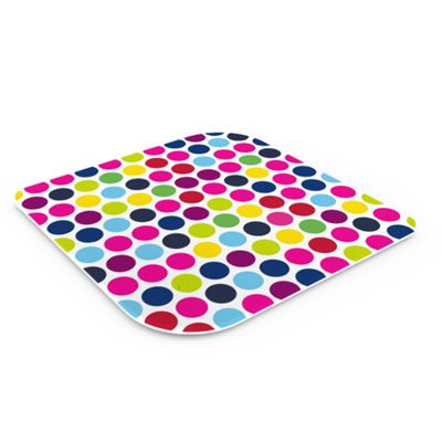 Pebbly Dotty Glass Trivet
