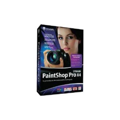 COREL - COMMERCIAL BOX - PAINTSHOP PRO X4 ULTIMATE - EN