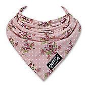 Vintage Rose Skibz - The original bandana style dribble bib