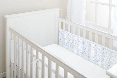 Breathablebaby 2-Sided Cot Liner - Twinkle Twinkle (Blue Stars)