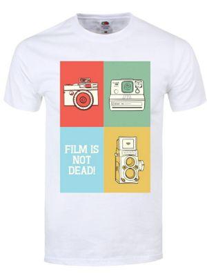 Film Is Not Dead Men's White T-shirt