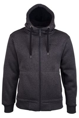 Mountain Warehouse Nevis Mens Fur Lined Insulating Full Zip Pockets Adjustable