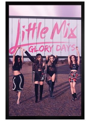 Little Mix Black Wooden Framed Glory Days Poster 61x91.5cm