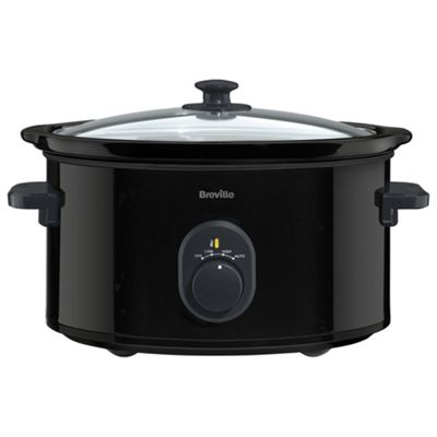 Breville Slow Cooker, VTP105, 4.5L - Black