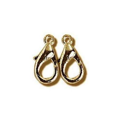 Impex Lobster Claw Clasps Antique 10mm