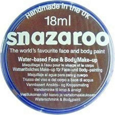 Snazaroo Face Paints Classic Colours Light Brown 18ml - Fancy Dress