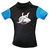 TWF UV Rash Vest Black/Blue age 2-3.