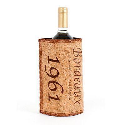 Cork Sleeve Wine Bottle Cooler Chill Sleeve Wrap