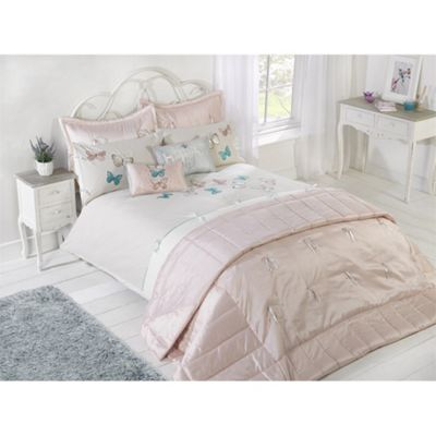 Cascade Home Tranquil Butterfly Duvet Cover Set - Double