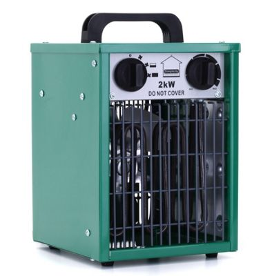 buy hydrogarden 2kw greenhouse fan heater grow house. Black Bedroom Furniture Sets. Home Design Ideas