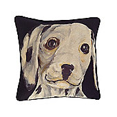 McAlister Printed Dalmatian Dog Cushion - Wool Look