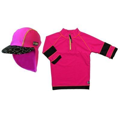 Swimpy UV Shirt and Sun Hat Pink 2 to 4 Years